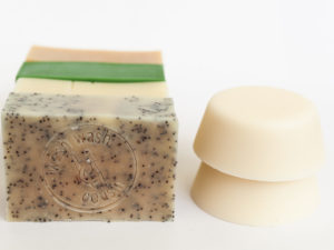 Pack cosmétiques solides zero déchet Savon et shampoing solide