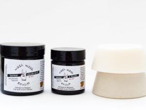 Pack cosmétiques solides zero déchet Shampoing solide cheveux secs